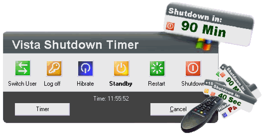 20hlq2p Vista Shutdown Timer: Turn off your PC at scheduled time