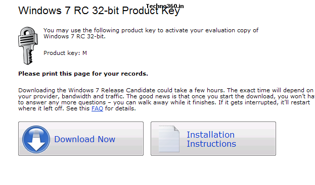 Download official windows 7 rc use it for free till - Open office free download for windows 7 32 bit ...