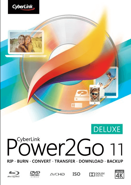 Cyberlink Power2Go 11 DELUXE