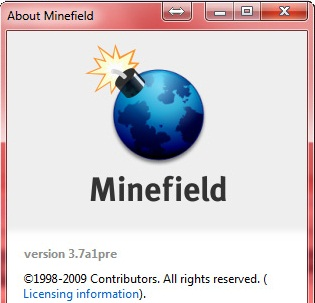 Firefox 3.7a1pre