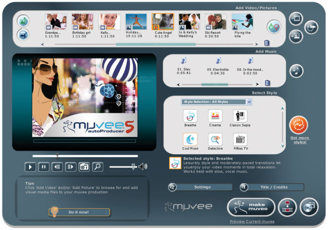 Download Muvee AutoProducer 5 for Free