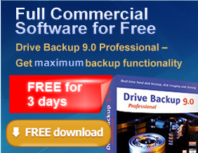 Free Paragon Drive Backup 9.0 Professional