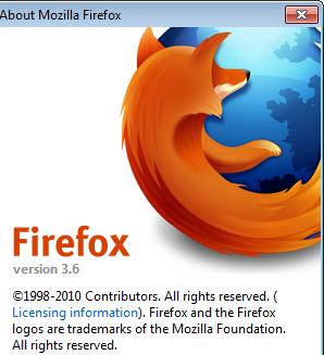 Firefox-3.6-Final1 Download Firefox 3.6 Final