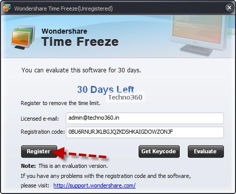 wondershare licensed email and registration code windows