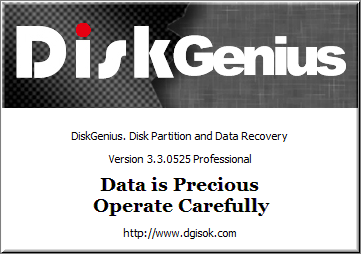 DiskGenius Partition Recovery for free