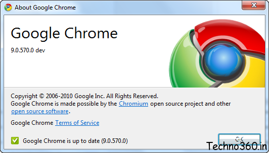 Download Google Chrome 9