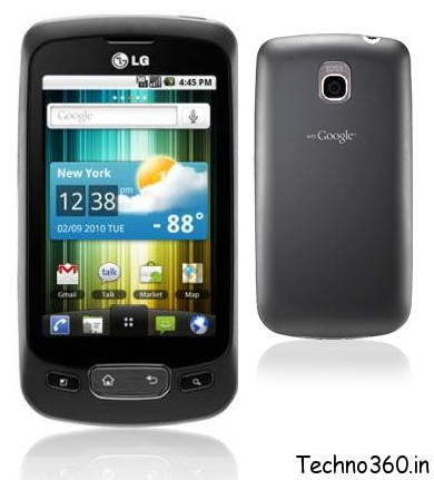LG-P500 LG Optimus One Available Online for Rs. 12,999