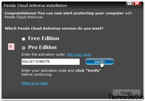 panda cloud antivirus pro edition activation code