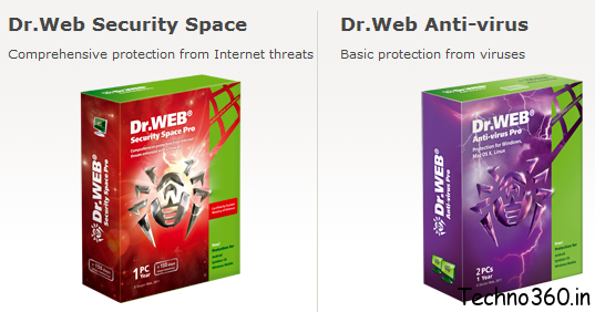 Dr.Web Security Space & Dr.Web Anti-virus free for 1 year