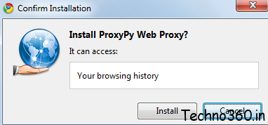 ProxyPy Web Proxy : Secure Proxy for Chrome