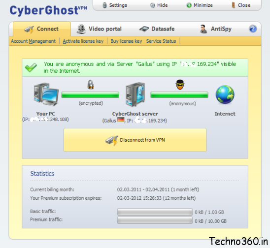 Cyberghost vpn 1 years premium free