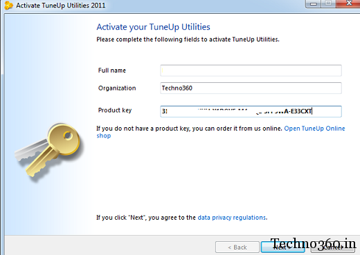 Tuneup utilities 2011 free license key