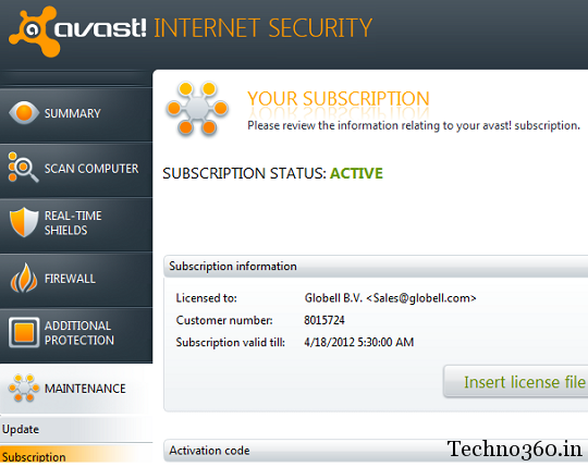 avast-Internet-Security-2012-license avast Internet Security 2012 free 6 Months License