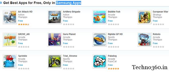 Download games samsung free.