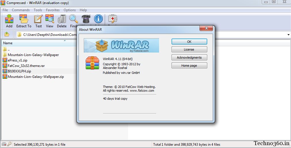 Download Winrar 4.11 32 Bit