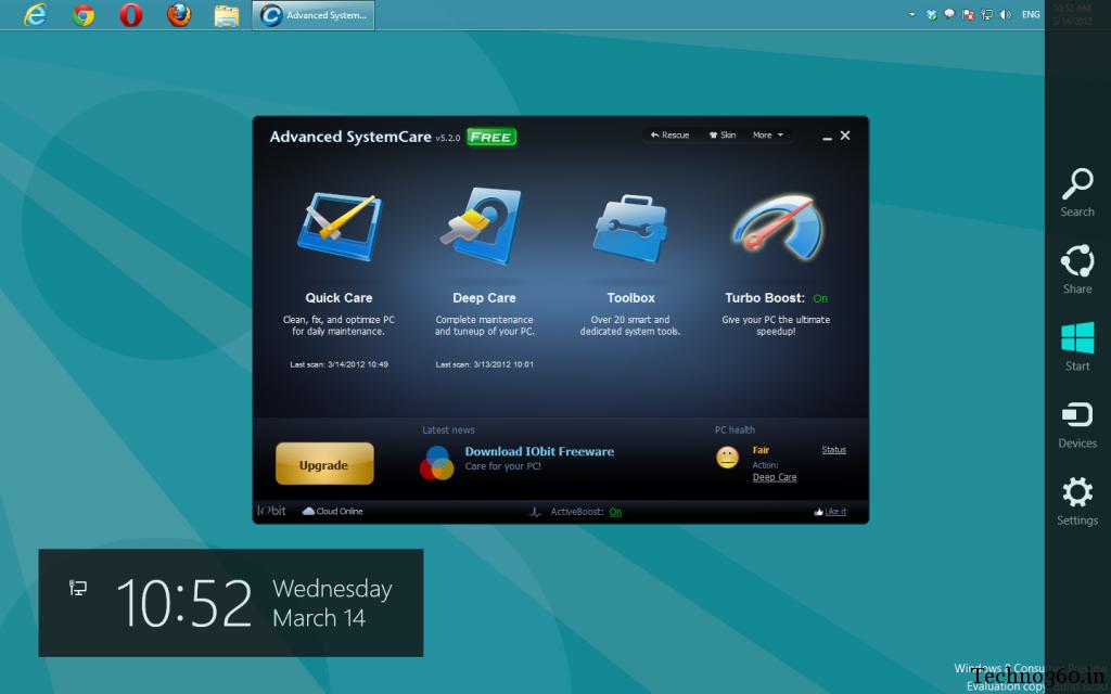Advanced SystemCare 5.2