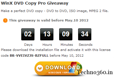 WinX-DVD-Copy-Pro-Free-license WinX DVD Copy Pro Giveaway