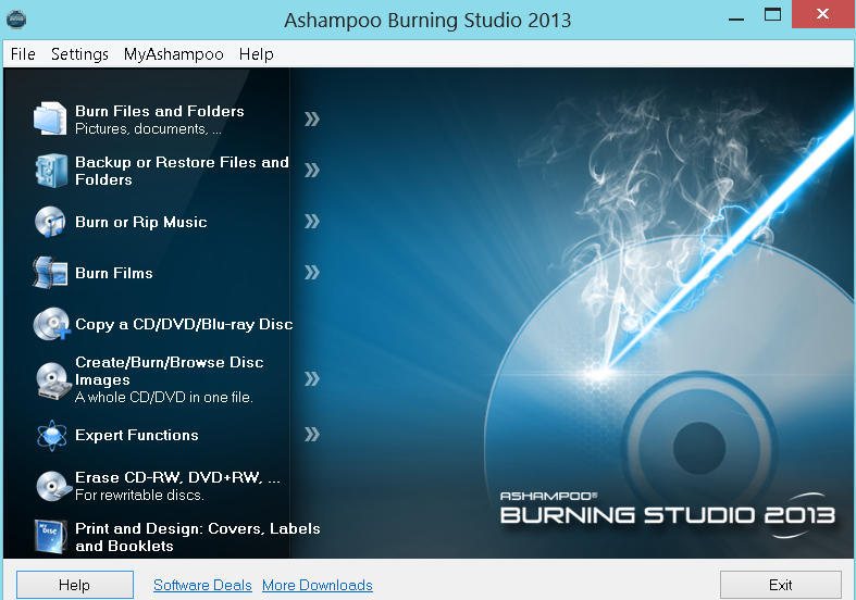 ashampoo burning studio 12 free download full version