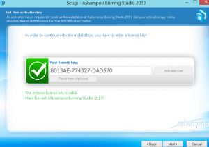 ashampoo burning studio 2013 license key