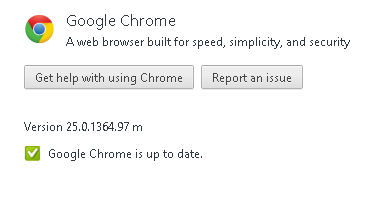 Google Chrome 25 stable version Released