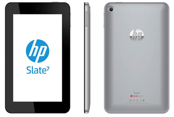hp-slate-7-silver HP Slate 7 Android tablet at 0