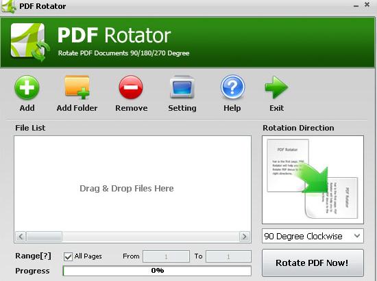 pdf-rotator PDF Rotator :Permanently Rotates PDF Pages