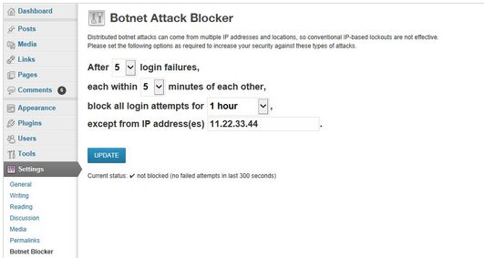 botnet attack blocker
