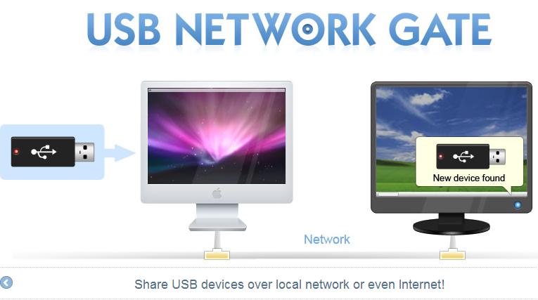 usb network gate