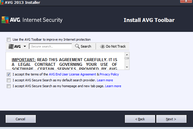 AVG Internet Security 2013 374 day Trail