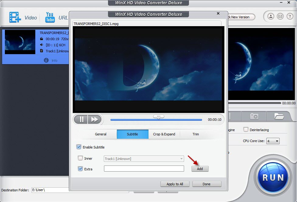 WinX HD Video Converter Deluxe (Techno360)