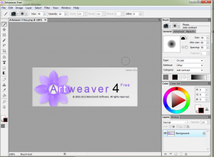 artweaver-300x221 Artweaver 4 : Full Featured Free Painting Tool