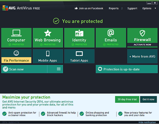 AVG-Antivirus-Free-2014 AVG Antivirus Free 2014 Released