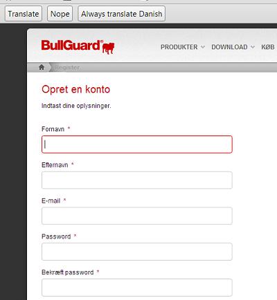 bullguar internet security 2014 promo