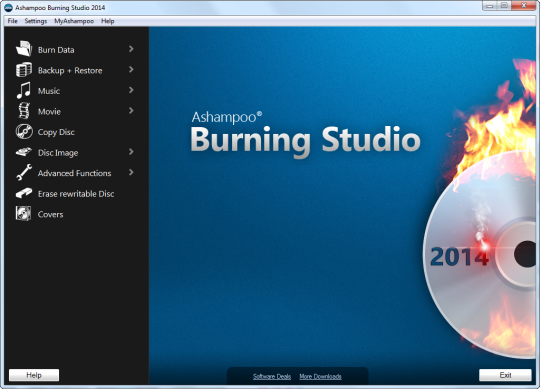 Ashampoo Burning Studio 2014 for Free