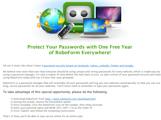 roboform everywhere license