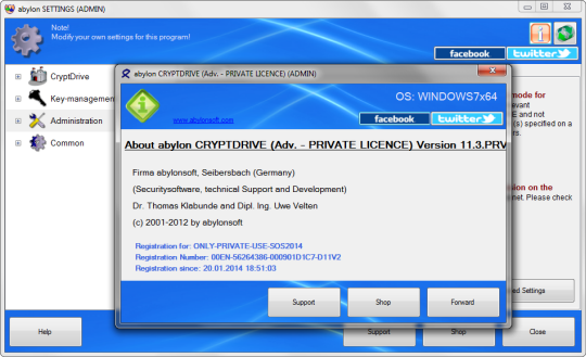 abylon-CRYPTDRIVE abylon CRYPTDRIVE Free License