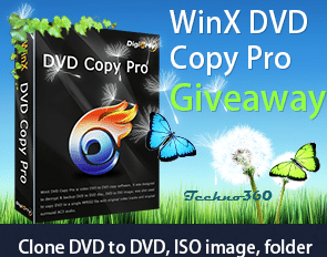 WinX DVD Copy Pro giveaway