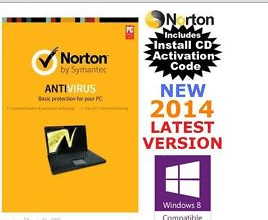 norton antivirus 2014 box
