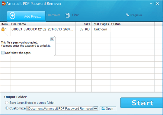how to get rid of password on pdf