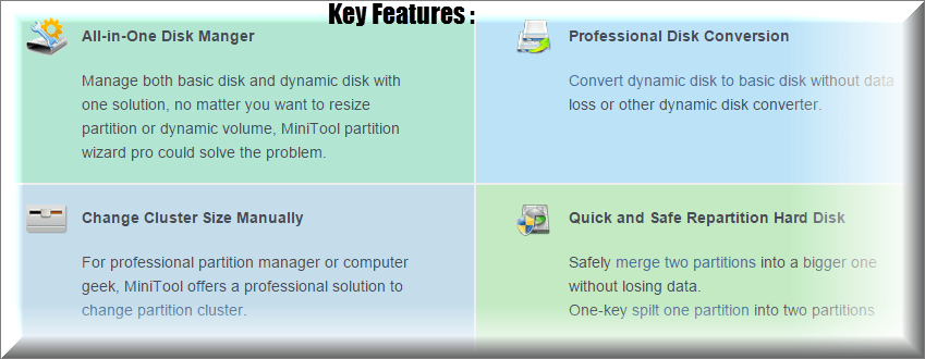Minitool partition wizard recovery full