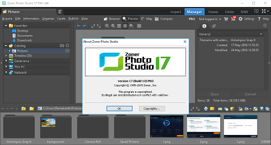 zoner photo studio pro activation