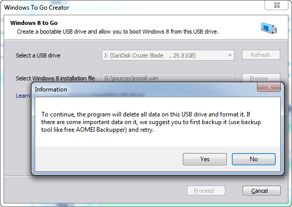 how to format your bootable drive