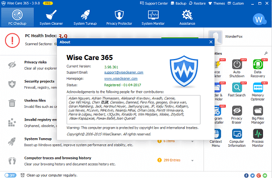 wise care 365 pro giveaway