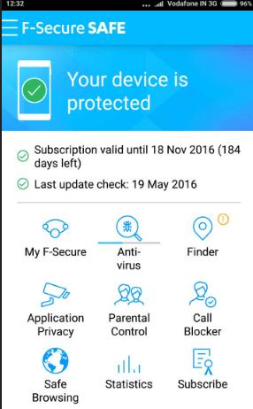F-SECURE SAFE Mobile