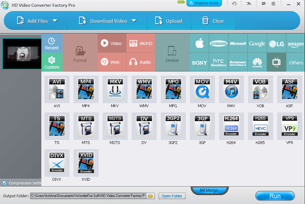HD Video Converter Factory Pro 14.3
