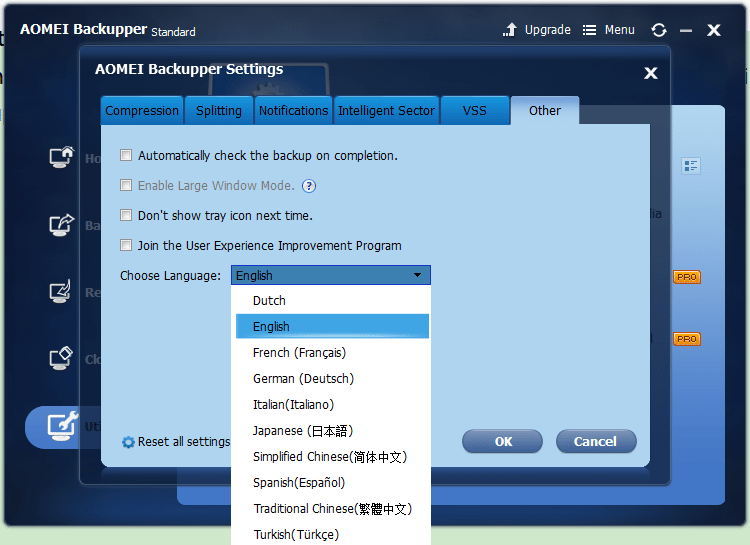 AOMEI Backupper 4.0.6