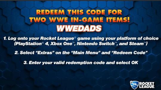 WWEDADS Rocket League