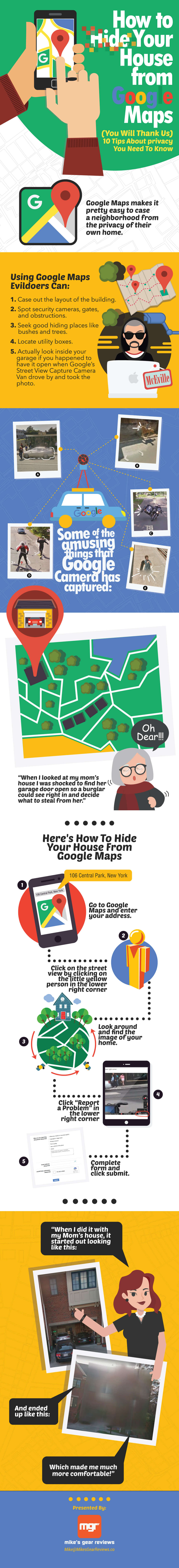 Hide your House from Google Maps